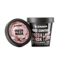 Фото Маска для лица с экстрактом малины и клюквы Face Control Fresh Mask Mr.SCRUBBER