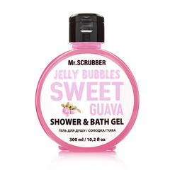 Фото Гель для душу Jelly Bubbles Sweet Guava Mr.SCRUBBER