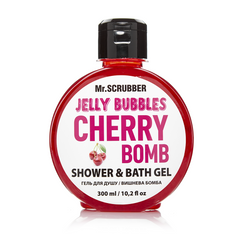 Фото Гель для душу Jelly Bubbles Cherry Bomb Mr.SCRUBBER